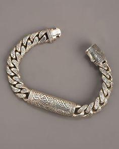 Konstantino Engraved Paganini Link Bracelet - Neiman Marcus   Definitely on my shopping list!!