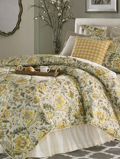 Coverlet Bedding, Pillow Shams, Bedding Sets, Comforters, Bedspreads, Bedroom Sets, Bedroom Decor, French Country Bedding, Yellow Walls