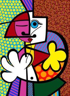 Orignal Brazilian Decoration Puzzle 1000 Pieces Romero Britto Happy Grow Jigsaw