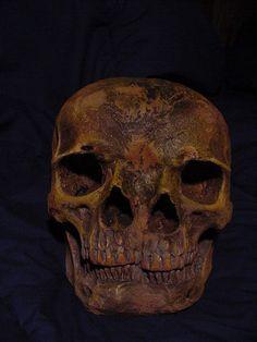 Two Faced skull