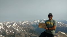 Hello from Mount Elbert the 2nd tallest peak in the lower 48.