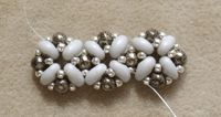 You Asked For It: More Right-angle Weave With Two-holed Seed Beads -Beading Daily #Seed #Bead #Tutorials