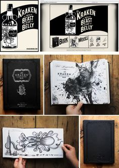 Kraken Idea book / AWESOME!!!