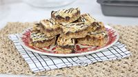 Chocolate Almond Toffee Bars - Anna Olsen - Marilyn Denis These sweet and chewy bars are the only holiday dessert recipe you need