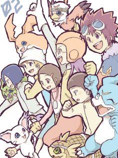 Digimon 02 Memoir by Chibimixxx.deviantart.com on @deviantART