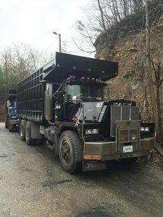 Mack coal truck
