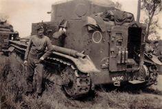 "British tanker tank Medium Tank Mk.I""."