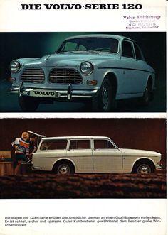 Volvo Amazon 120 series Promo Ad