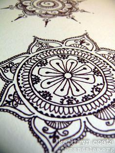 Henna Inspired Mandala #100mandalas #mandala #henna