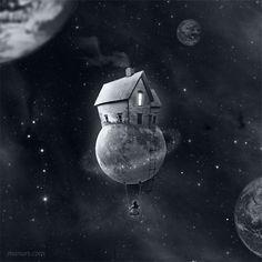 His little moon / Su pequeña luna | da ► MaNurs