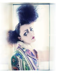 Imaginarium by Andrey  & Lili , via Behance  -I kinda like this hair style.. I wanna do something super whymsical