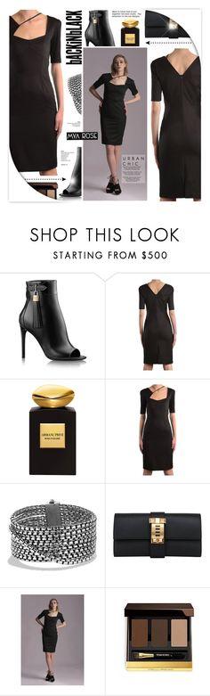 """ZARA DRESS - MYA ROSE 5"" by anyasdesigns ❤ liked on Polyvore featuring Giorgio Armani, David Yurman, Hermès and modern"