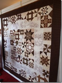 My favorite from The Norwegian Quilt Association--always the stars!