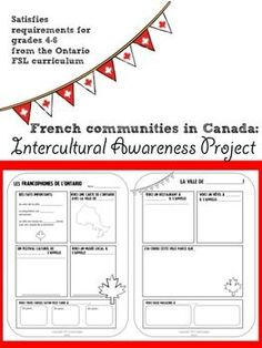 free french projects for grade 6 8 core french fits new bc curriculum kick butt french. Black Bedroom Furniture Sets. Home Design Ideas