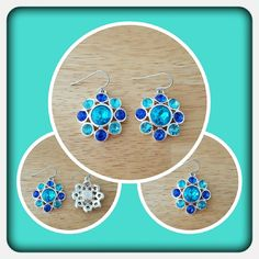 💙 NWOT Woman's Earrings 💙 Brand New Earrings With Simulated Gemstones & French Hoooks By Dana Buchman. These Are Very Sparkly They Really Catch The Light And Look Great With Spring & Summer Wardrobes. Excellent Condition Matching Necklace In Another Listing 🚫  PAYPAL 🚫 TRADES 🚫 LOWBALL OFFERS 💙 Dana Buchman Jewelry Earrings