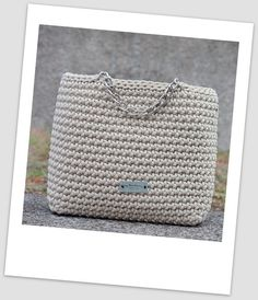 Handmade bag Woven handbag Pastel bag Branded bag Crochet
