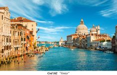 Gorgeous view of the Grand Canal and Basilica Santa Maria della Salute during sunset with interesting clouds, Venice, Italy Romantic Places, Beautiful Places, Beautiful Beach, Venice Wallpaper, Rome Florence, Places To Travel, Places To Visit, Grand Canal Venice, Venice City