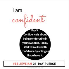 """Confidence is a habit that can be developed by acting as if you already had the confidence you desire to have."""" Brian Tracy - author #believeiam"""