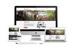 web design mockup - Google-søgning
