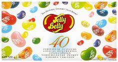 Jelly Belly Beans 40Parfums Coffret cadeau, 1er Pack (1x 500g): The Original Gourmet Jelly Belly Bean L'aventure au goût Get Real. Get…