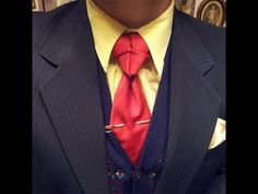 In Depth How to: Tying a Truelove Knot Neck Tie - Mirrored Video