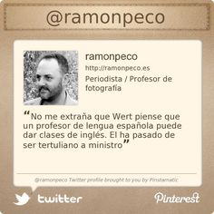 @ramonpeco's Twitter profile courtesy of @Pinstamatic (http://pinstamatic.com)