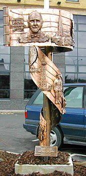 Sculpture tribute to Josef Locke :)