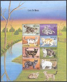chats du monde stamps