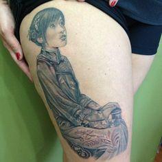 Chinese Gueixa tattoo  Lico  Mundo da Tattoo