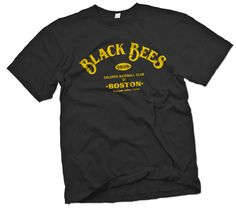 Bost Black Bees Negro Leagues T-Shirt