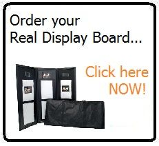Real Estate Agents nationwide have been using Real Display Boards since 2009 to showcase their properties in a slick, compact and effective manner. Display Boards, Estate Agents, Open House, Auction, Real Estate, Bulletin Boards, Real Estates, Presentation Boards
