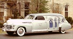 1941 cadillac hearse.  Would LOVE to have one of these for our Halloween wedding!