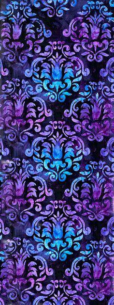 Patterns│Estampado - #Patterns vintage blue purple http://htctokok-infinity.hu                                                                                                                                                      Más