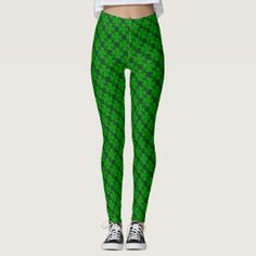 40% off with code: STPADDYPARTY #StPatricksDay  leggings with 4 leaf clovers