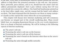 The Artist's website.