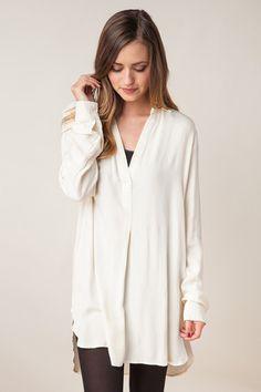 Break Through Ivory Top – Dress Up