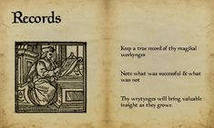 """Book of Shadows:  """"Book of Shadows 13 Page 8,"""" by Sandgroan, at deviantART."""