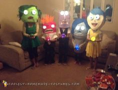 INSIDE OUT CHARACHTERS COSTUMES