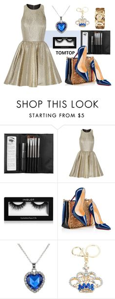 """""""TOMTOP 11"""" by christine-792 ❤ liked on Polyvore featuring Sephora Collection, Alice + Olivia, Inglot and Christian Louboutin"""