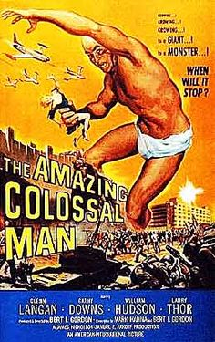 Amazing Colossal Man movie poster