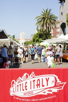 Little Italy Mercato Farmers Market in San Diego, California