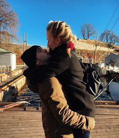 Tyler and Jenna in Norway. They are the cutest couple around.