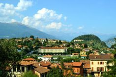 A summer view to Bellagio peninsula. Royalty Free Stock Photo