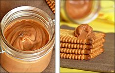 Pendant longtemps je n'ai pas imaginer manger autre pâte à tartiner que le Nutella … Il n'en existait qu'une dans mon esprit et, têtue, je n'en goûtais même pas d'autres ! Mais voyant régulièrement, par-ci et par-là, diverses pâtes à...