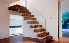 Floating Staircases & Balustrades - Wooden Staircases - Glass Balustrades UK