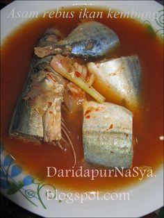 Dari Dapur NaSya: Asam rebus ikan kembung
