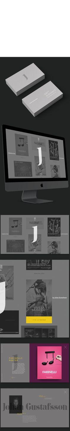 'J' Identity by Johan Gustafsson, via Behance