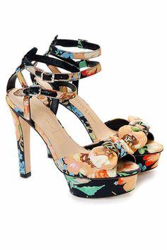 Spring shoe trend #1: Printed platforms and where to get 'em