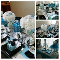 Breakfast at Tiffany theme party