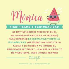 #mónica #mrwonderful Personal History, Baby Names, My Family, Catholic, Verses, Nostalgia, Happy Birthday, Instagram, Lettering